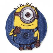 Universal Studios Minion 1 Embroidered Iron On Motif