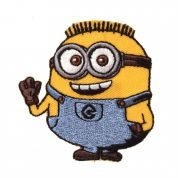 Universal Studios Minion 2 Embroidered Iron On Motif