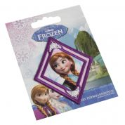 Diamond Anna from Frozen Embroidered Iron On Motif