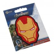Ironman Helmet Embroidered Iron On Motif