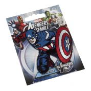 Captain America Embroidered Iron On Motif