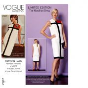 Vogue Limited Edition Ladies Sewing Pattern 1557 & Pattern Hack Mondrian 1960s Retro Dress