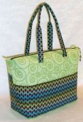 Lazy Girl Accessories Easy Sewing Pattern Summer Tote Bag