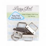 Lazy Girl Fobio Key Fob Hardware  Silver