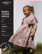 Liberty Sewing Pattern Mabel Tiered Dress