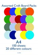 Craft UK Limited 160gsm Blank Card Cardstock