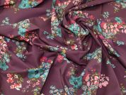 Lady McElroy Mulberry Blooms 100% Cotton Lawn Dress Fabric