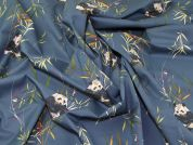 Lady McElroy Panda Retreat 100% Cotton Lawn Dress Fabric