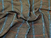 Lady McElroy Highland Tweed Coating Fabric  Multicoloured