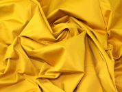 Lady McElroy Stretch Cotton Sateen Fabric  Mustard