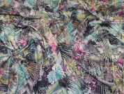 Lady McElroy Tropical Jersey Knit Fabric  Multicoloured