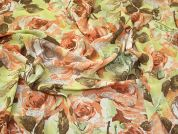 Lady McElroy Viscose Crepe Fabric  Multicoloured