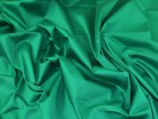 Lady McElroy Stretch Cotton Sateen Fabric  Emerald
