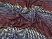 Lady McElroy Geometric Jersey Knit Fabric  Multicoloured
