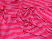 Lady McElroy Viscose Jersey Knit Fabric  Pink