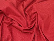 Lady McElroy Brushed Cotton Twill Fabric  Deep Red