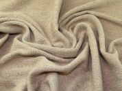 Lady McElroy Textured Coating Fabric  Beige