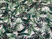 Lady McElroy Viscose Jersey Knit Fabric  Green
