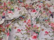 Lady McElroy Cotton Lawn Fabric  Pink