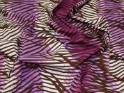 Lady McElroy Cotton Lawn Fabric  Plum
