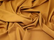 Lady McElroy Pure Wool Suiting Fabric  Mustard Gold