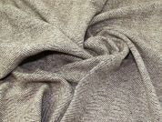 Lady McElroy Herringbone Wool Coating Fabric  Coffee