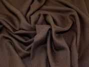 Lady McElroy Twill Wool Coating Fabric  Brown
