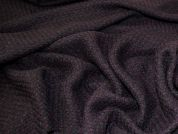 Lady McElroy Tweed Wool Coating Fabric  Blackberry
