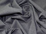 Lady McElroy Ponte Roma Knit Fabric  Grey