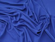 Lady McElroy Textured Jersey Knit Fabric  Royal Blue