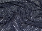 Lady McElroy Corded Lace Fabric  Navy Blue