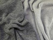 Lady McElroy Reversible Jersey Knit Fabric  Grey