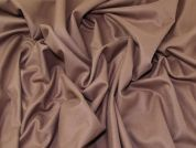 Lady McElroy Cashmere Wool Coating Fabric  Mink Mocha