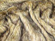 Lady McElroy Super Soft Faux Fur Fabric  Camel