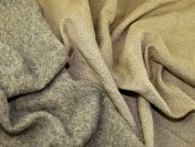 Lady McElroy Reversible Wool Coating Fabric  Camel