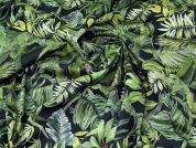 Lady McElroy Stretch Cotton Twill Fabric  Green