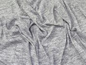 Lady McElroy Cationic Jersey Knit Fabric  Marl Grey