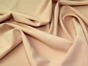 Lady McElroy Double Luxury Crepe Fabric  Peach