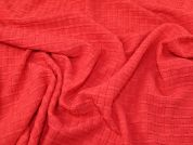 Lady McElroy Cloque Jersey Knit Fabric  Coral Pink