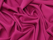 Lady McElroy Stretch Suiting Fabric  Magenta