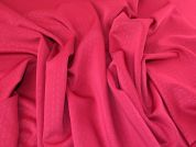 Lady McElroy Ponte Roma Knit Fabric  Fuchsia Pink