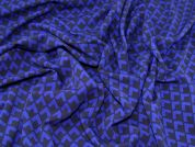 Lady McElroy Ponte Roma Knit Fabric  Royal Blue