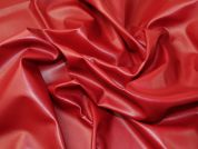 Lady McElroy Soft Leatherette Fabric  Deep Red