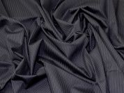 Lady McElroy Cotton Shirting Fabric  Navy Blue