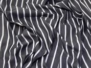 Lady McElroy Cotton Shirting Fabric  Dark Grey