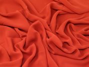 Lady McElroy 100% Silk Chiffon Fabric  Rust