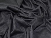 Lady McElroy Wool Blend Coating Fabric  Dark Grey