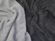 Lady McElroy Wool Knit Coating Fabric  Grey