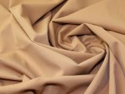Lady McElroy Stretch Suiting Fabric  Camel