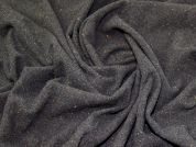 Lady McElroy Wool Coating Fabric  Charcoal